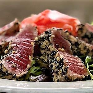 Black and White Sesame Encrusted Ahi Tuna*