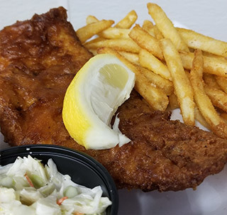 Fried Haddock - Sanibel island Seafood Restaurant